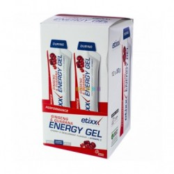 Etixx Energy Gel ginseng & guaraná 12uds
